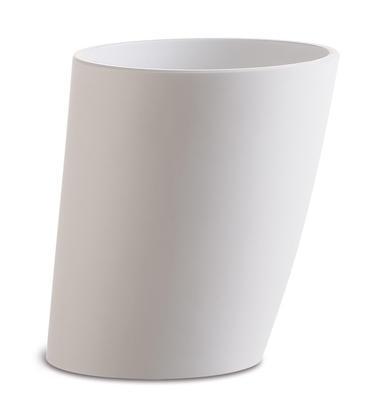 Chladiaca nádoba PISA na nápoje biela, šikmá  - 1