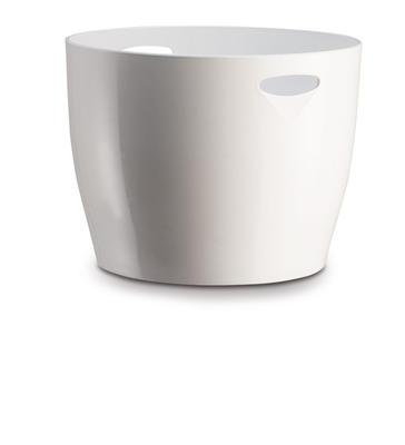 Chladiaca nádoba MONA biela guľatá s otvormi - 1