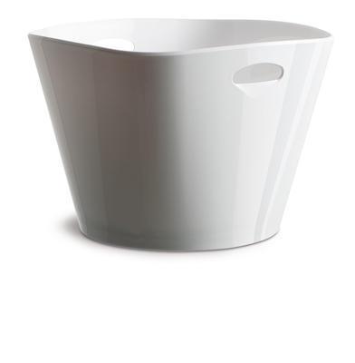 Chladiaca nádoba KVADRA na nápoje biela s otvormi - 1